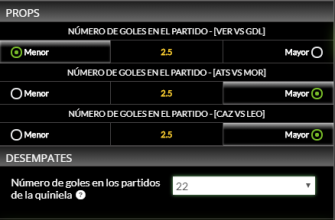 picks jornada 4.1