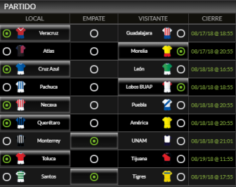 picks jornada 5